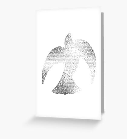 ACTS CHAPTER TWO - HOLY SPIRIT Greeting Card