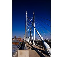 Nelson Mandela Bridge & Walkway Photographic Print