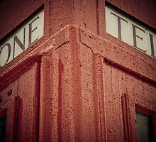 Red Telephone Booth by AriseShine
