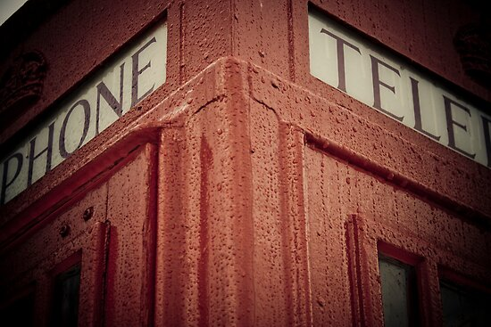 Red Telephone Booth by AriseShine