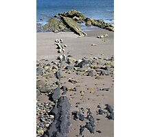 Dashed line Photographic Print