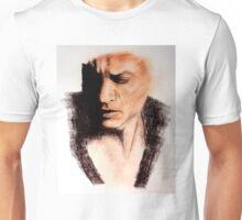 Charcoal Portrait - Shah Rukh Khan Unisex T-Shirt
