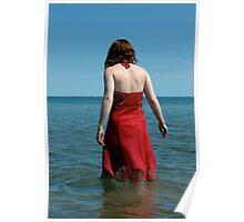 Wading Poster