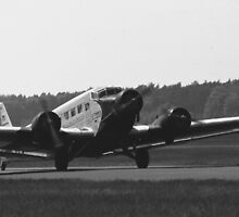 Ju 52 Lufthansa by Beatminister