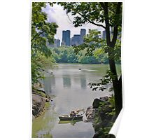 Central Park's Lovers Poster