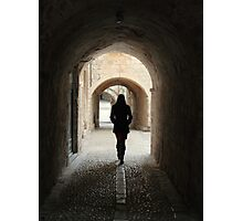 A Stroll Through Dubrovnik Photographic Print