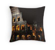 The Colosseum Throw Pillow