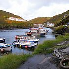 Cornwall: All in for the Night at Boscastle by Rob Parsons