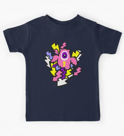 Cute Mechanical Owls Kids Tee