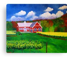 Philip Carter Winery Canvas Print