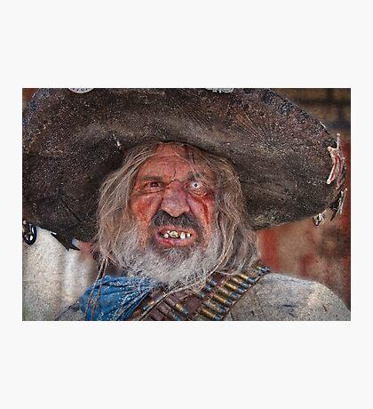 Tombstone Bandito Photographic Print
