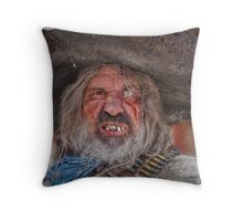 Tombstone Bandito Throw Pillow
