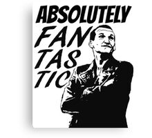 """Absolutely Fantastic."" -9th Doctor Canvas Print"