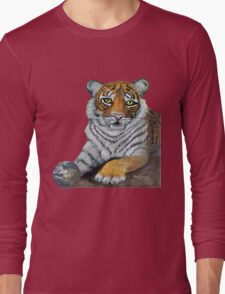 Hilary  Robinsons tigers paw  Long Sleeve T-Shirt