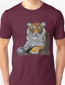 Hilary  Robinsons tigers paw  Unisex T-Shirt
