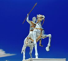 Alexander the Great statue, Halkidiki by makedon