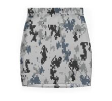 URBAN/METRO camouflage!  So digital cameras cannot see you! Mini Skirt