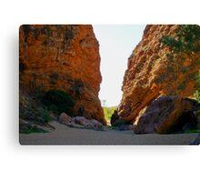 Simpsons Gap, Northern Territory Australia Canvas Print