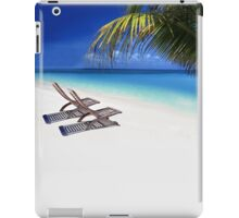 Relax at the Beach  iPad Case/Skin