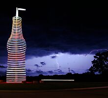 Colored Lightning by Dennis Jones - CameraView