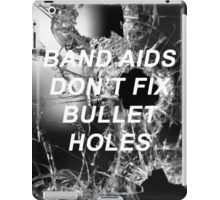 Taylor Swift Bad Blood Lyrics iPad Case/Skin
