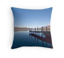Derwent Water, Cumbria Throw Pillow