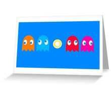 Ghostly Games Greeting Card