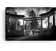 The journey begins... Canvas Print