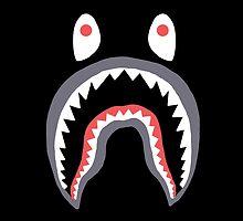 Bape Shark  by supremeandstuff