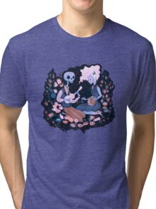 Rhythm of Grief (Day of the Dead) Tri-blend T-Shirt