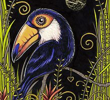 Tiny Toucan by Anita Inverarity