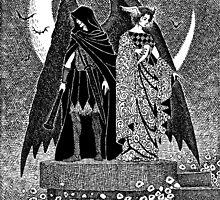 Thanatos and Hypnos by JELarson