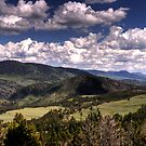 Yellowstone Skies by Terence Russell