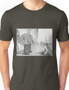 Picking Upon an Unseen Clue Unisex T-Shirt