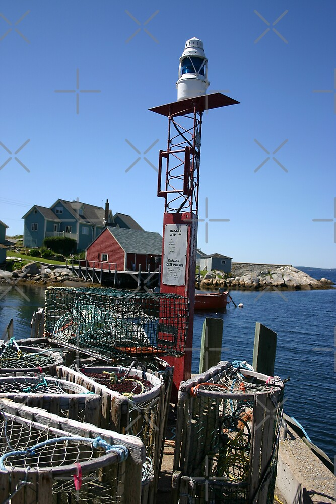 Lobster Traps by Alyce Taylor