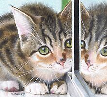 Mirror Image by Karen  Hull