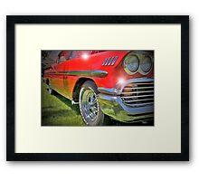Impala HDR Framed Print