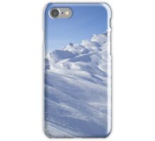 Snow blue sun iPhone Case/Skin
