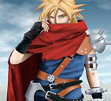 Cloud Strife - Heroes of final fantasy 7 by Dnx-Drift