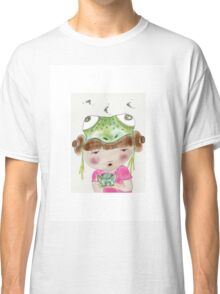 Frog art print, My Favourite Animal is a Frog Classic T-Shirt