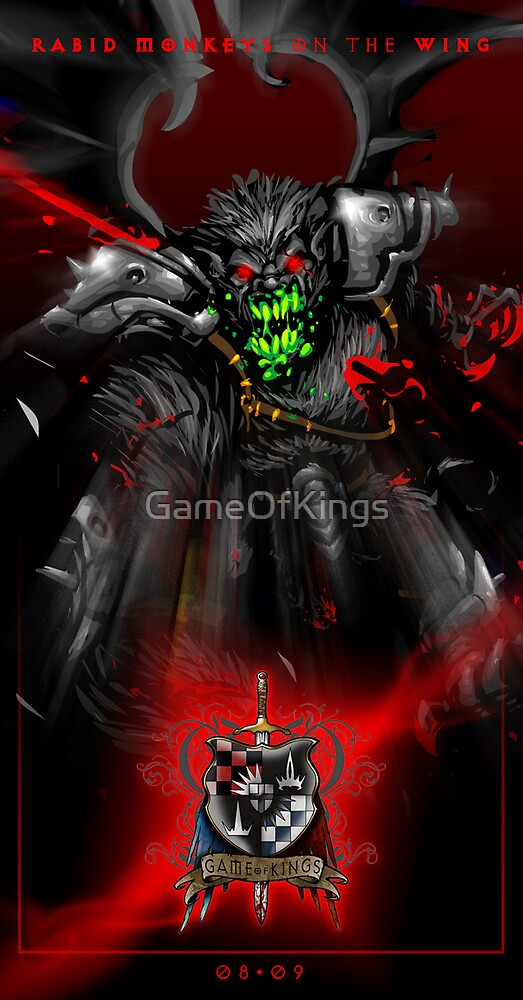 Game of Kings, Wave Four Preview - the Black Queen-Rook's Pawn by GameOfKings