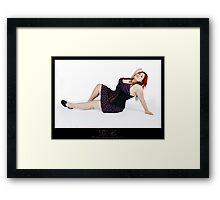 """""""True Pin-up"""" Framed Print"""