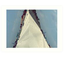 Chicago Diptych Art Print