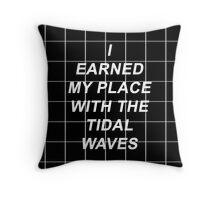 All Time Low Mark Hoppus Tidal Waves Lyrics Throw Pillow
