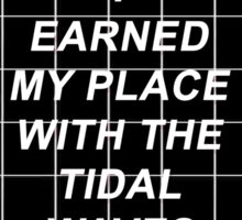 All Time Low Mark Hoppus Tidal Waves Lyrics Sticker