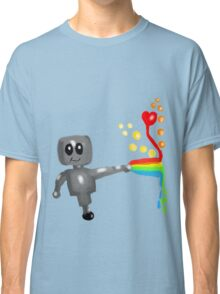 Rainbow Robot  Classic T-Shirt