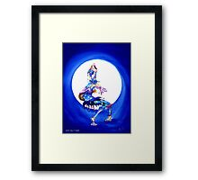 Jester song at Twilight Framed Print