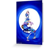 Jester song at Twilight Greeting Card