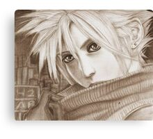 Cloud Strife - Heroes of final fantasy 7 (2) Canvas Print