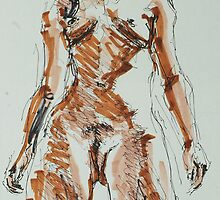 Standing and Seated Nudes by Johnathan Felton by Johnathan Felton